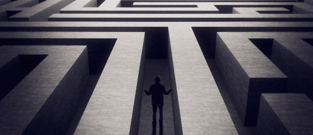 Allgemeine Infos zu Psychotherapie dunkles Labyrinth