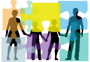 systemische Familientherapie Puzzle