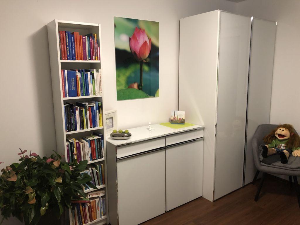 Praxisraum der Praxis Herzensstätte Julia Belch-Köbe